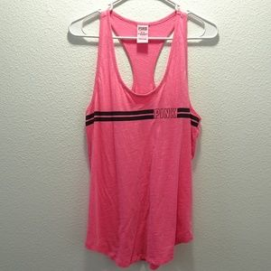 Victoria's Secret Pink Burn Out Tank Top Medium